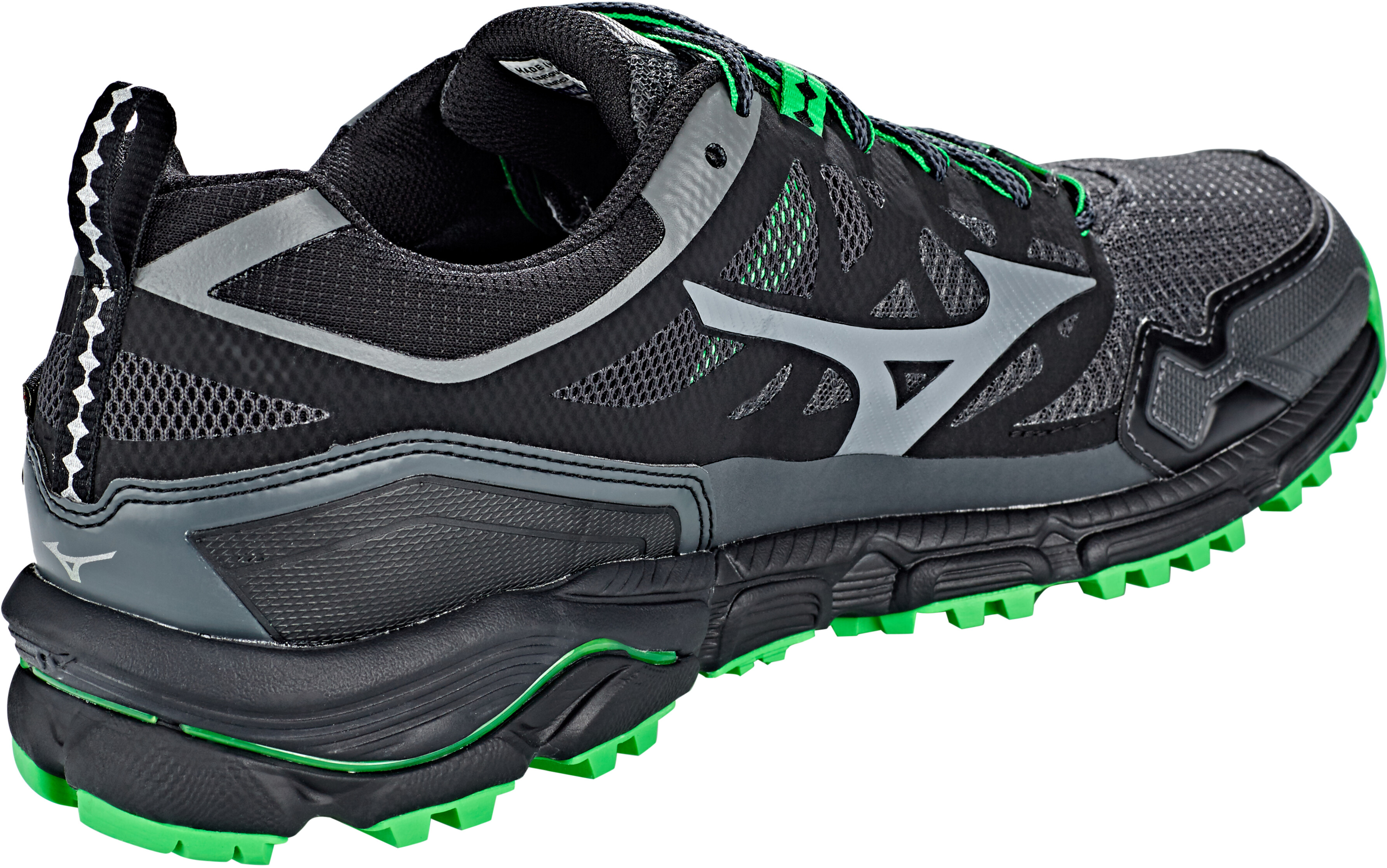 new york fe42b ceb24 Mizuno Wave Daichi 4 GTX Shoes Men dark shadow quiet shade poison green